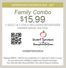 Sweet tomatoes coupons groupon
