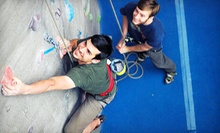 Intro to Climbing Class with a Two-Week Club Membership for One or Two at Triangle Rock Club (Up to 66% Off)
