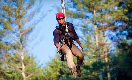 $69 for a Zipline Tour for Two at The Beanstalk Journey at Catawba Meadows in Morganton (Up to $138 Value)