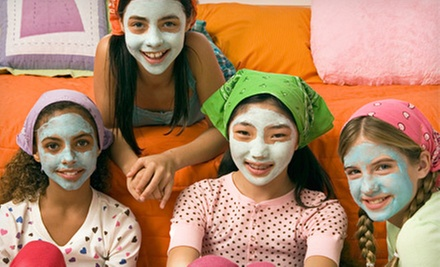 Glamour Girl Spa Package with Facial, Makeup, and Hairstyling for One or Five at Pure SKN (Up to 69% Off)