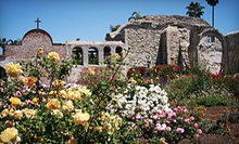 Visit for Two or Four Adults to Mission San Juan Capistrano (Half Off)