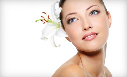 One or Three One-Hour Facials or a One-Hour Facial with a 30-Minute Back Scrub at Harlow Boutique Salon (Up to 59% Off)