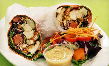 $10 for $20 Worth of Juice, Smoothies, and Healthy Café Food at JuiceBerry Organic and Natural Food