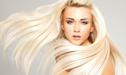 Haircut & Choice of Condition, Partial Highlights, or Keratin Express Treatment at Silk the Salon (Up to 58% Off)