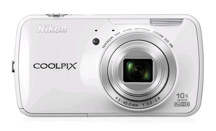 Nikon Coolpix S800c 16MP Android Digital Camera with 10x Optical Zoom (Refurbished)