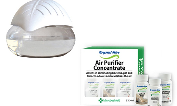 Groupon Goods: Crystal Aire Leaf Purifier with Ionizer from R599.99 Including Delivery (Up to 44% Off)