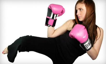 10 or 20 Classes or One Month of Unlimited Kickboxing at Fournier&#x27;s Leadership Karate Center (Up to 71% Off)