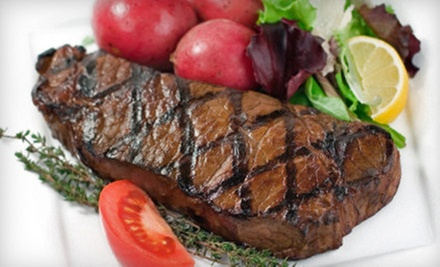 Two-Course Meal and Pool for Two or Four at 59 West Entertainment Complex (Up to 60% Off). Three Options Available.