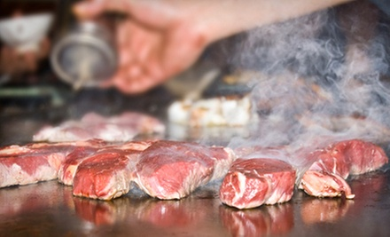 $15 for $30 Worth of Hibachi Dinner Cuisine at Fujiyama Steak House of Japan