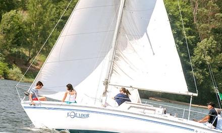Equador — Marco de Canaveses: passeio de veleiro no Douro para 2 ou 4 pessoas de 1h30, 3h ou 4h desde 39,90€