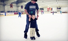Ice Skating Packages with Skate Rental and Small Drinks for Two or Four at Oceanside Ice Arena in Tempe (Up to 52% Off)