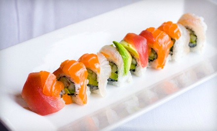 Modern Japanese Cuisine at Japone (Half Off). Two Options Available.