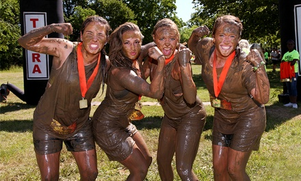 Halloween Hustle 5K Mud Race for One, Two, or Four from The National MudRunners Association (Up to 72% Off)