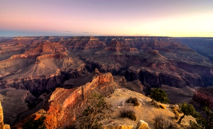 Grand Canyon Tour of the West or South Rim for One with Optional Meals from Comedy on Deck Tours (Up to 53% Off)