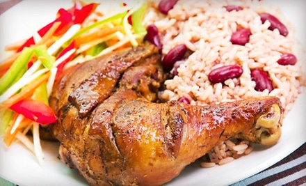 Authentic Caribbean Dinner or Lunch at Island Breeze Café (Up to 53% Off)