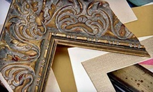 $35 for $100 Worth of Custom Framing Services at Artistic Picture Framing