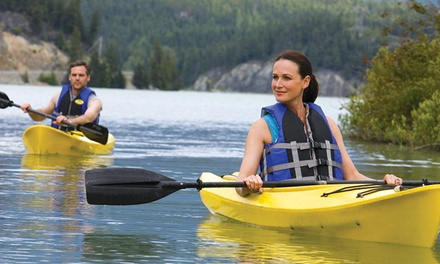 Single- or Tandem-Kayak Rental from Savannah Rapids Kayak Rental (50% Off)