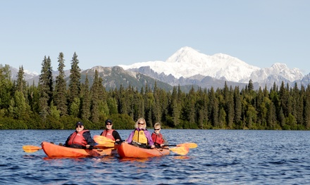 Full-Day Rafting-and-Kayaking Adventure for One or Two from Denali Southside River Guides (Up to 49% Off)