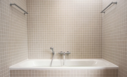 Bathtub Recaulking, Bathtub Deep Cleaning, or Tile-Wall Deep Cleaning from Super Surface (Up to 77% Off)