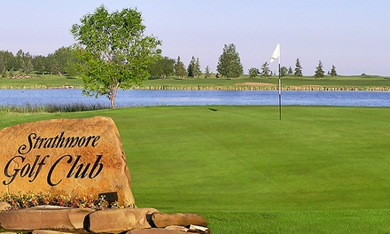 18 Holes of Golf with Cart Rental and Range Balls for Two or Four at Strathmore Golf Club (Up to 51% Off)