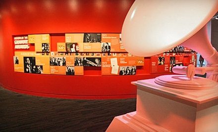 Visits or Memberships to Grammy Museum (Up to 54% Off). Five Options Available.