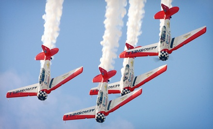 The Great Georgia Air Show for One or Family of Four on Saturday, October 12 or Sunday, October 13 (Up to Half Off)
