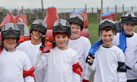 $29 for 90-Minute Splatmaster Birthday Package for Up to 10   at Davis Paintball Center ($250 Value)