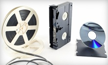 8mm, Super-8 Film, or Video Transfer to DVD at Hourglass Media (Up to 47% Off)