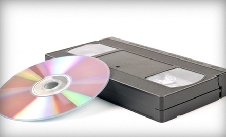 $20 for Two VHS-to-DVD Conversions at Save Your Tapes ($39.98 Value)
