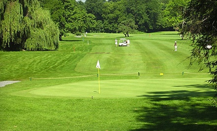 18-Hole Round of Golf with Cart Rental for Two or Four at Juniata Golf Club (Up to 52% Off)