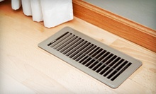 $99 for Air-Duct Cleaning for 15 Vents from Beautifully Restored Carpet and Upholstery Cleaning Service ($299.25 Value)