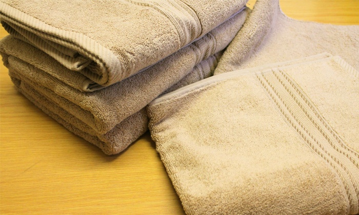 Groupon Goods: Egyptian Cotton Bath Towels from R299.99 Including Delivery (Up to 58% Off)