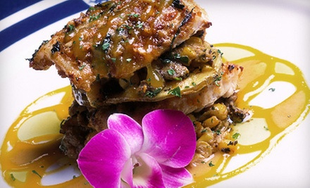 $25 for $50 Worth of Upscale Food and Drinks at Marina Grog & Galley
