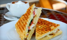 Café Fare and Beverages for Breakfast and Lunch or Dinner at The Lighthouse Coffee Bar in Midlothian (Half Off)