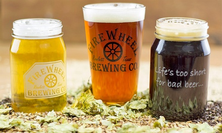 $17 for Brewery Tour for One at FireWheel Brewing Co. ($30 Value)