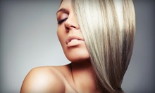 One or Two Keratin Hair-Straightening Treatments at Hair by Sun Novak at Allure Salon (Up to 58% Off)