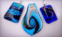 $8 for a Glass Pendant from Adam Weiss Art ($16 Value)