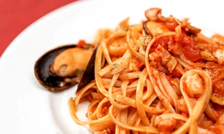 $22 for $40 Worth of Italian-Mediterranean Dinner at Pan D'Olive