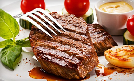 $40 for a Steak Meal for Two at Jamil's Steakhouse ($93.88 Value)