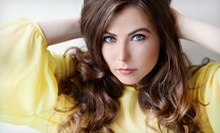 Cut and Conditioning with Optional Partial or Full Highlights at First Impression Salon & Day Spa (Up to 54% Off)