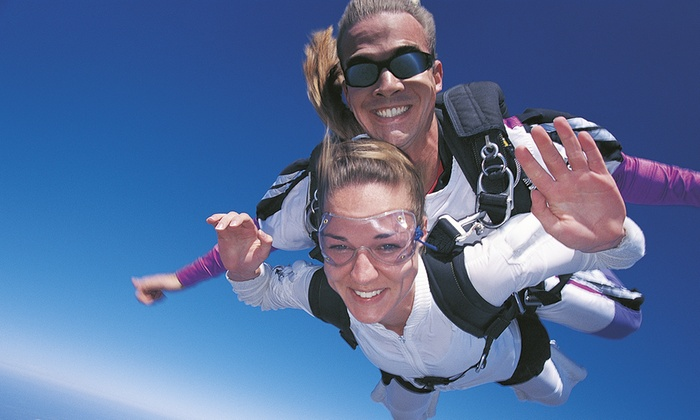 Skydive Central - Bicester: Skydive Central: Tandem Jump For One (£175) or Two (£265) (Up to 47% Off)