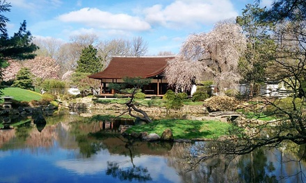 Admission for Two Adults or Two Adults and Three Children to Shofuso Japanese House & Garden (Up to 41% Off)