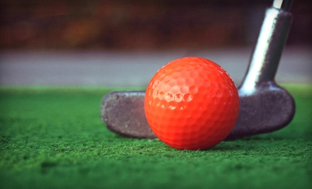 Mini Golf for Four or Eight, or a Birthday Party for 10 with Optional Pizza at Toad Valley Golf Course (Up to 53% Off)