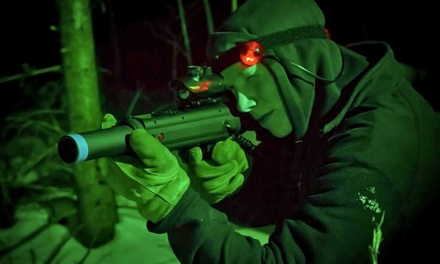 Battle Royale Laser Tag for One, Two, or Four at Fear City   (Up to 50% Off)