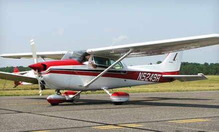 Cessna Flight for Two or Three from Red Baron Air Tours (Up to 53% Off)