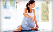 10 Yoga Classes Within Five Weeks, or Two Months of Unlimited Yoga Classes at Evolation Yoga (Up to 67% Off)