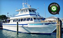 Shark-Fishing Trip or Half- or Full-Day Fishing Trip from Obsession Charters (Up to 55% Off)