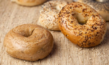 Lunch or Eight Groupons, Each Good for a Bagel with Cream Cheese at Old School Bagel Cafe (Up to 42% Off)
