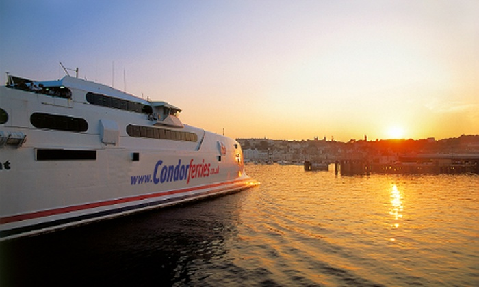 Condor Ferries - Guernsey: Guernsey Ferry: Return Day Trip From Weymouth For Child for £10; For Adult for £15 with Condor Ferries (Up to 50% Off)