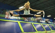 Unlimited Trampoline Jumping for Two or Four at AirHeads Trampoline Arena in Orlando (Up to 44% Off)
